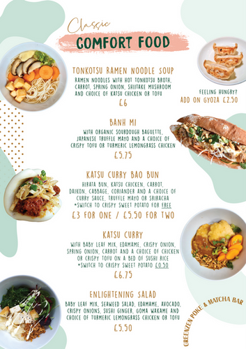 Menu (3) - Comfort Food UPDATED 7-1-2020