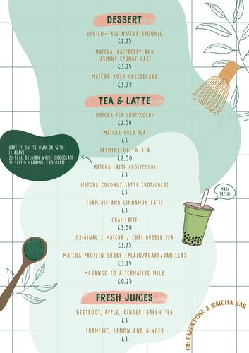 Menu (4) - Dessert + Drinks UPDATED 7-1-