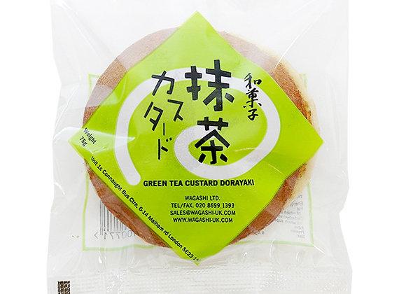 Wagashi Dorayaki Green Tea Custard