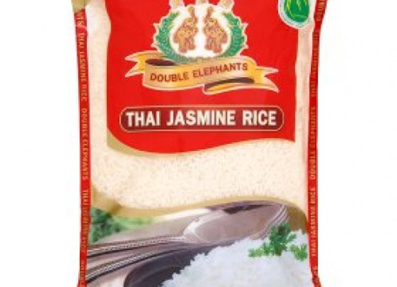 Premium Thai Jasmine Rice (Double Elephant) 2kg