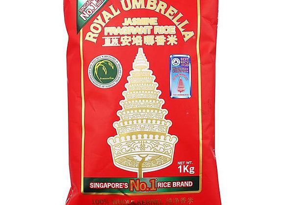 Royal Umbrella Fragrant Jasmine Rice 1kg