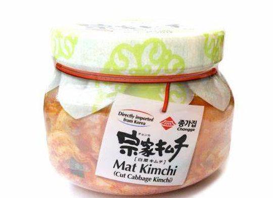 Chongga Mat Kimchi Jar (Cut Cabbage Kimchi) 400g