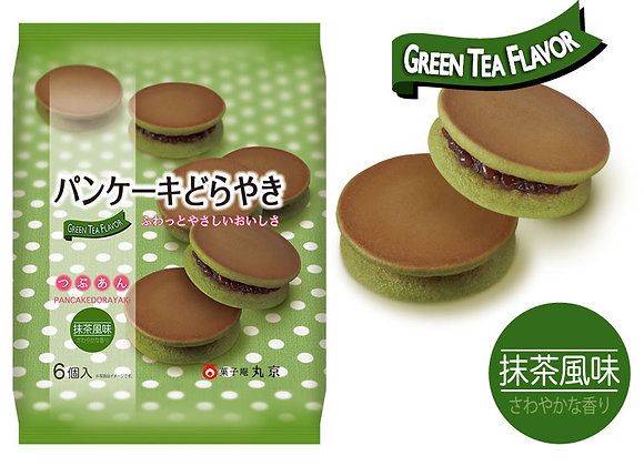 Marukyo Pancake Dorayaki - Matcha 6pc 310g