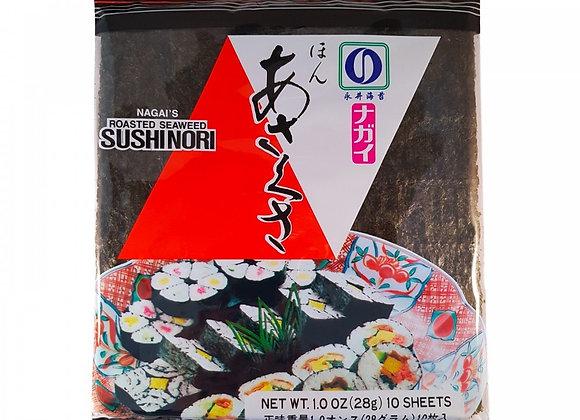 Nagai Sushi Nori (Red) 10 Sheets
