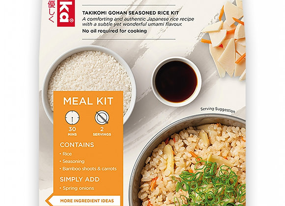 Vegan Rice Kit with Bamboo Shoots (Serves 2)