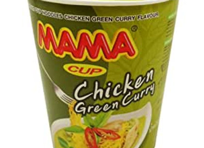 MAMA Chicken Green Curry Cup