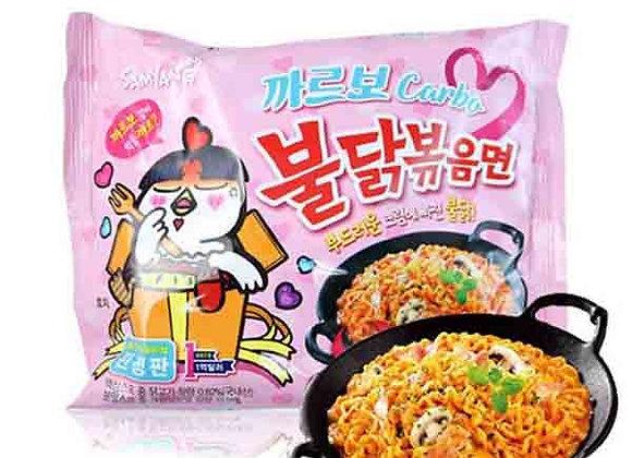 samyang Carbonara Hot Chicken Noodle Packet