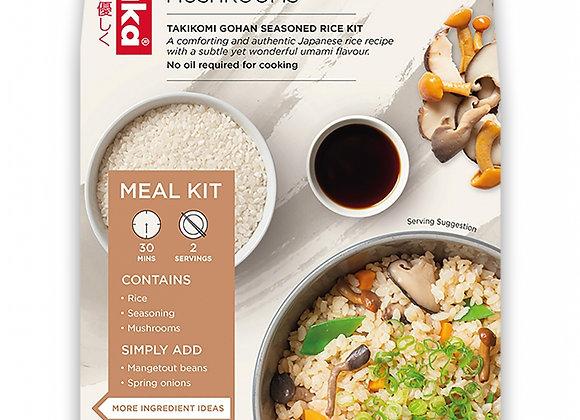 Vegan Rice Kit with Aromatic Shittake, Shimeji & Nameko Mushrooms (Serves 2)275g
