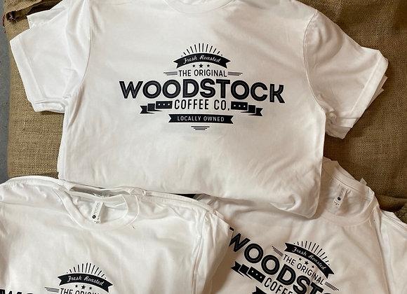 Woodstock Coffee T shirt White