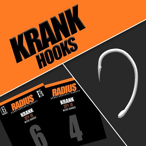 Radius Krank Hooks (Micro Barbed)