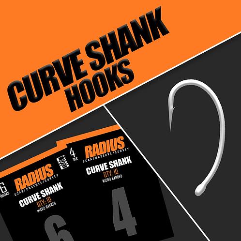 Radius Curve Shank Hooks (Micro Barbed)