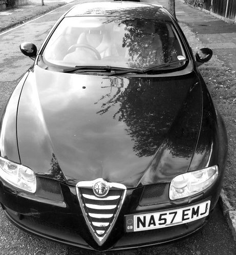 SOLD alfa romeo gt black jts selespeed