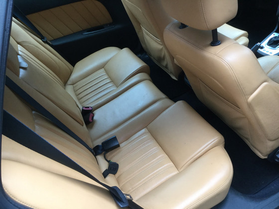 This Gorgeous Light Brown Leather Car Seats