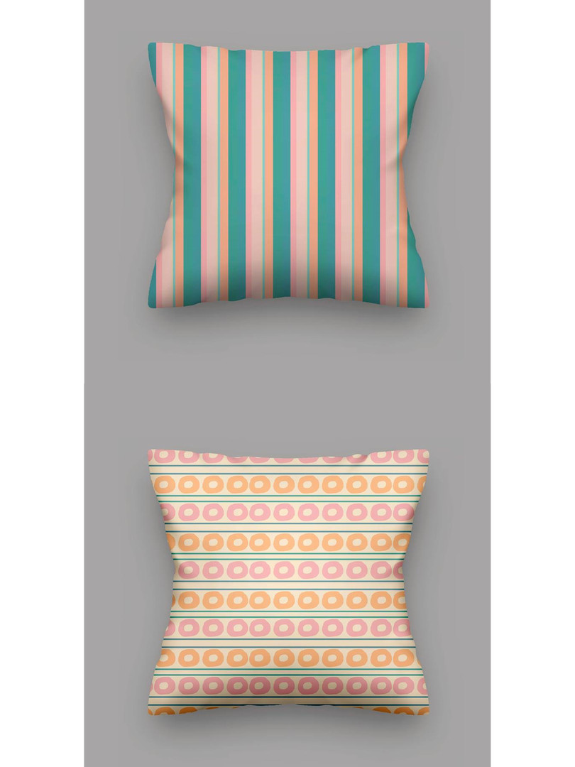 ST FAGANS PATTERNED PILLOWS