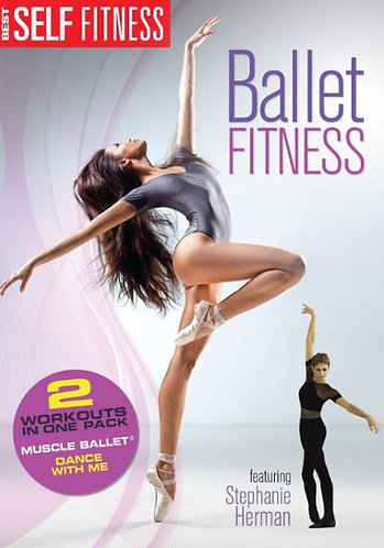 DVD Ballet Fitness - Muscle Ballet & Dance with Me Ballet Workout