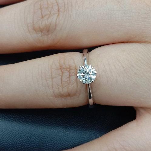 流當鑽石拍賣 八心八劍 50分 G色 女鑽戒 喜歡價可議 ZS239