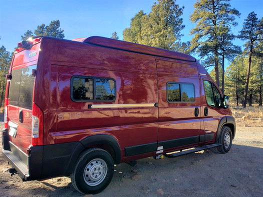 Solis Camper Van - Passenger  Side