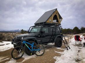 Kodiak Overland Rental with Bike