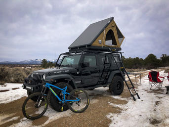 Kodiak Overland Rental with Bike