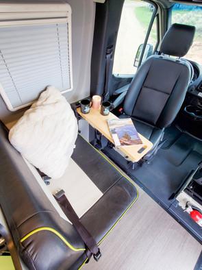 Revel 4x4 Sprinter Van Rental - Seating Area