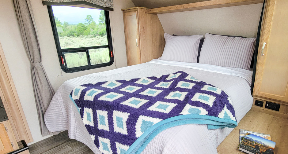 Queen Size Bed - RV Rental