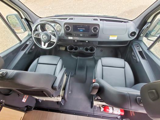 Revel 4x4 Sprinter Van Rental - Front Cab