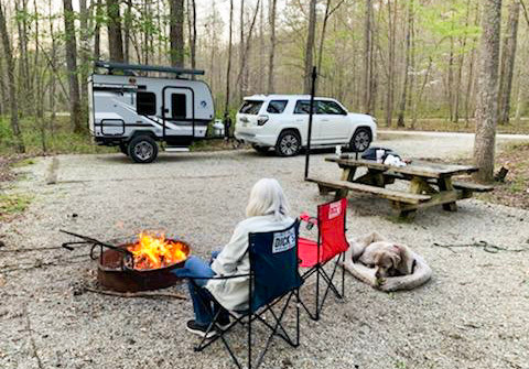 Camping with Your Best Friend!