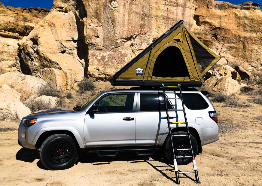 4Runner Rental With Roof Top Tent