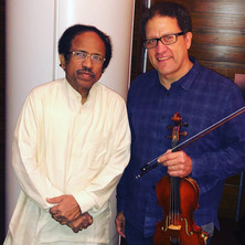 James Sanders with Dr. L. Subramaniam