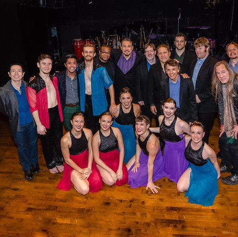 Cerqua Rivera Dance Theatre Jazz Ensemble and dancers
