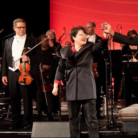 Concertmaster for Chicago Sinfonietta Gala