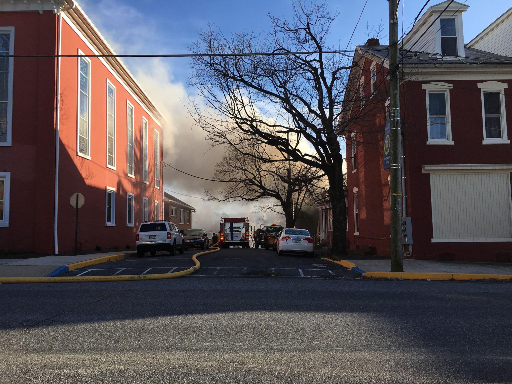 jonestown barn fire 2