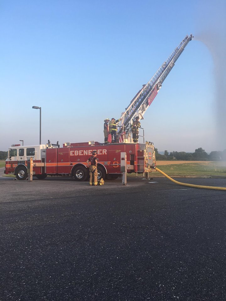 Tower 9 during training