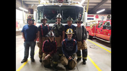 Crew from Barn Fire