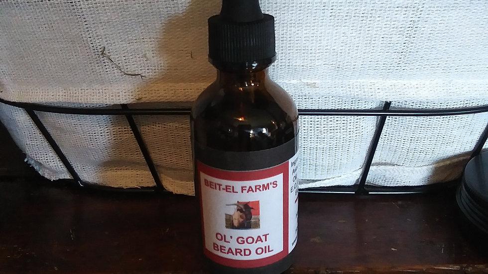 Ol' Goat Beard Oil 2  fl. oz.