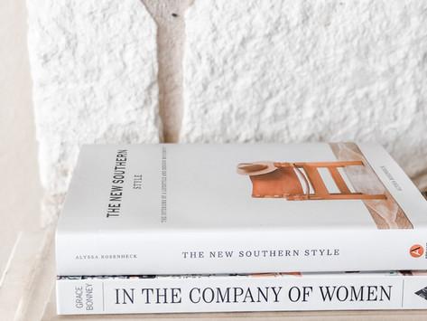 Modern Farmhouse Coffee Table Books