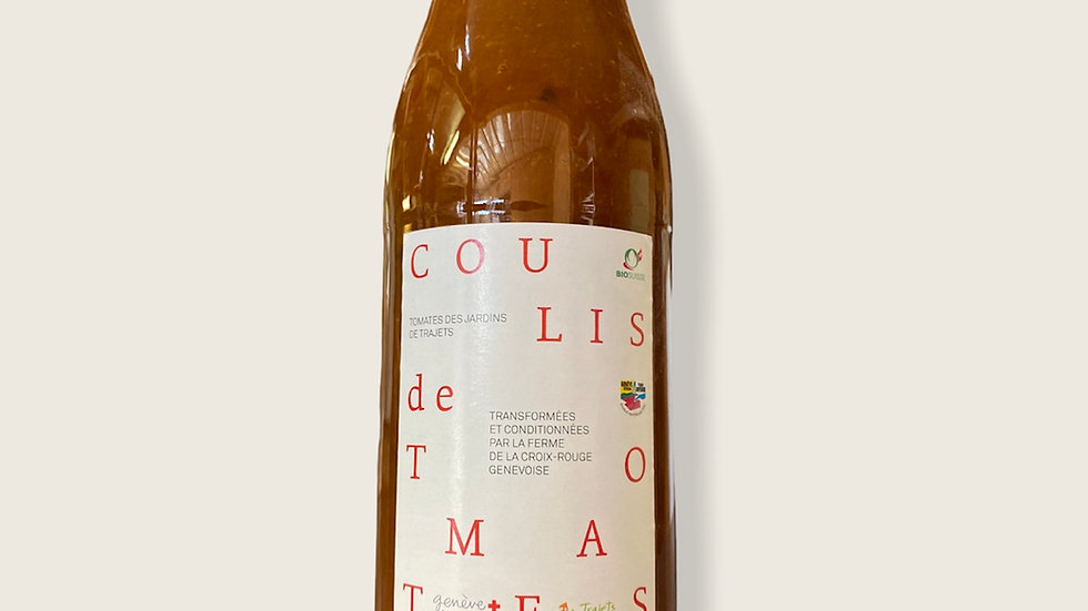 Coulis de tomates bio 450ml