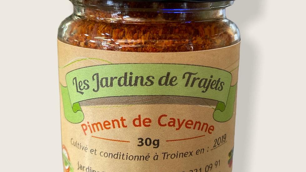 Piment en poudre 30gr Cayenne