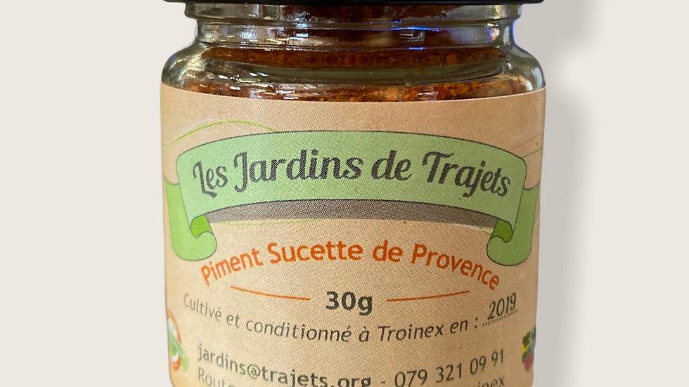 Piment en poudre 30gr Sucette de Provence