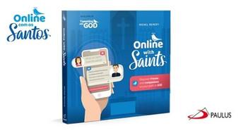 Online com os Santos | Livro do mês da Editora Paulus