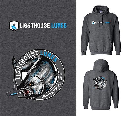 Lighthouse Lures Salmon Fishing Hoodie