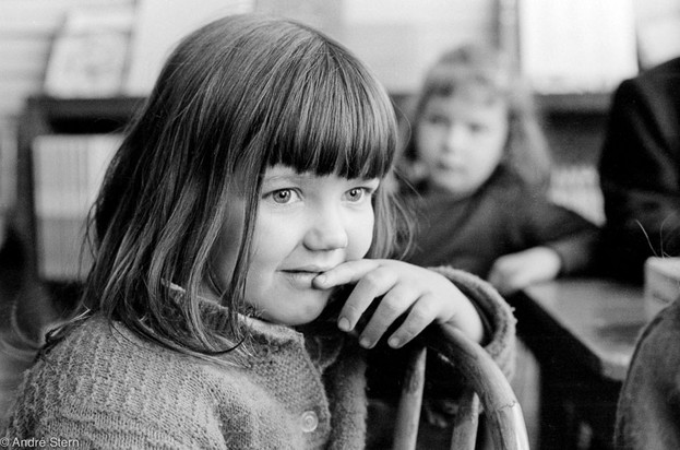 Schoolgirl. Whitesberg, Kentucky. 1959.