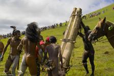 Islanders' ritual