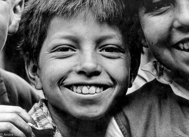 Schoolboy. Bogota, Colombia. 1963.