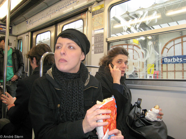 Paris Subway. 2009.
