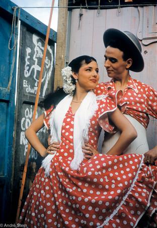 Flamenco Dancer Couple.