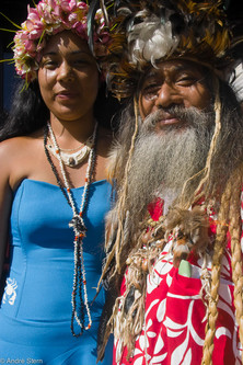 Easter Island King and Queen