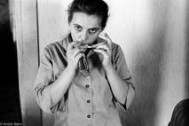Coal Miner's Wife Smoking Prince Albert tobacco.