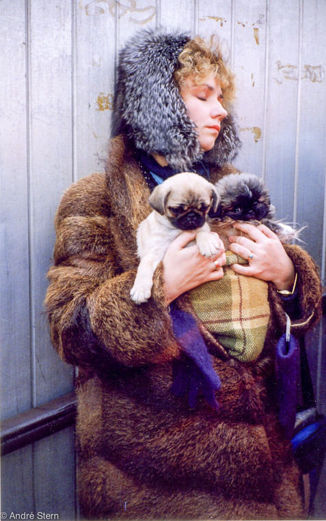 Selling Dogs. Moscow, Russia. 1991.