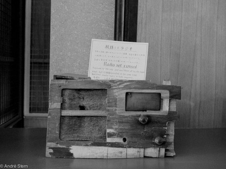 Radio in museum